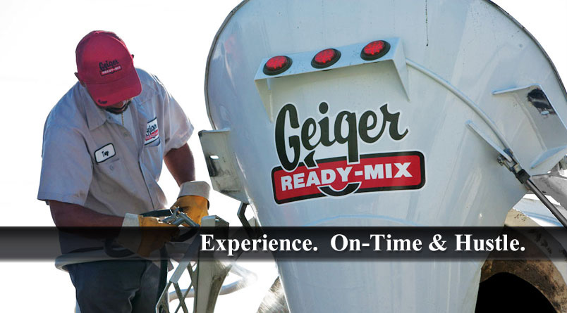 Welcome to Geiger Ready-Mix
